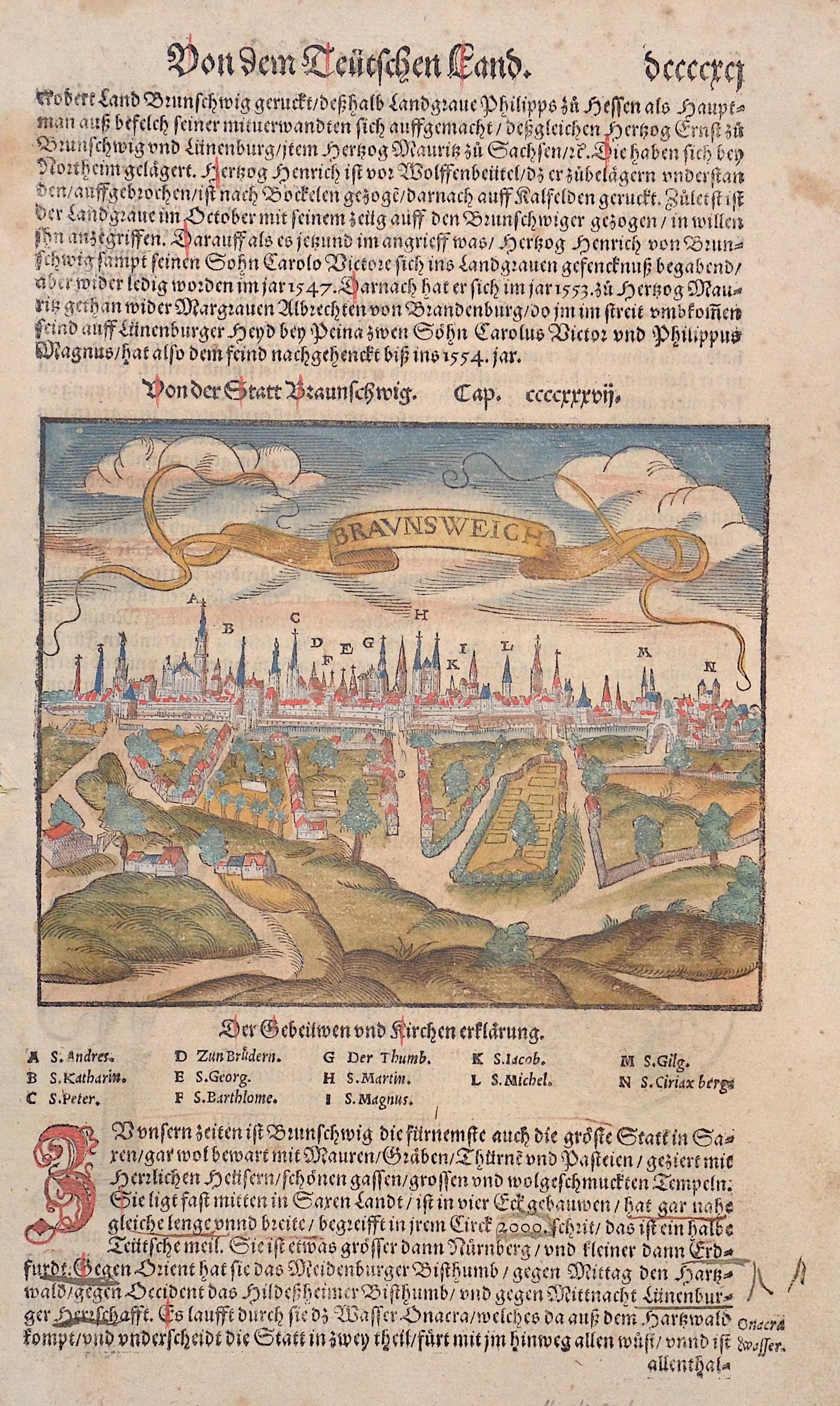Münster Sebastian Von der Stadt Braunschweig