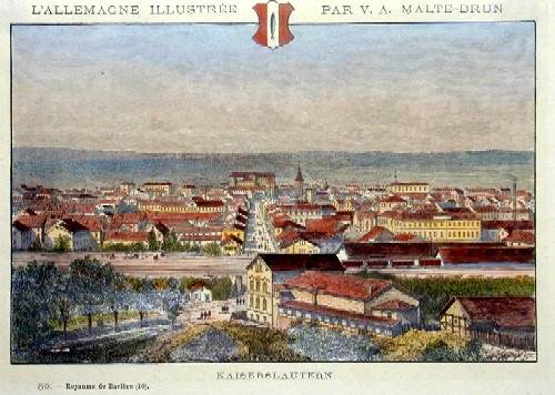 Malte-Brun Victor Adolphe Kaiserslautern