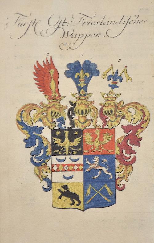 Anonymus  Fürstl. Ost.- Friesländisches Wappen