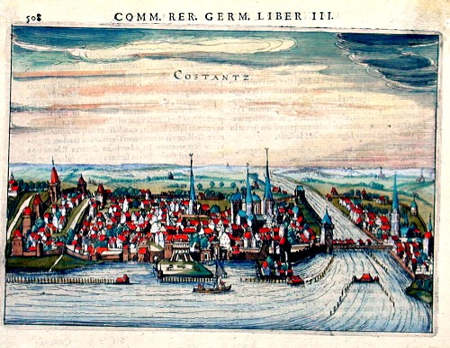 Bertius  Comm rer. Germ. Liber III / Costantz