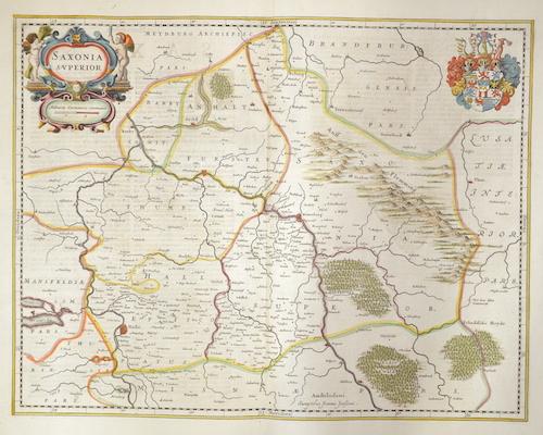 Janssonius  Saxonia superior