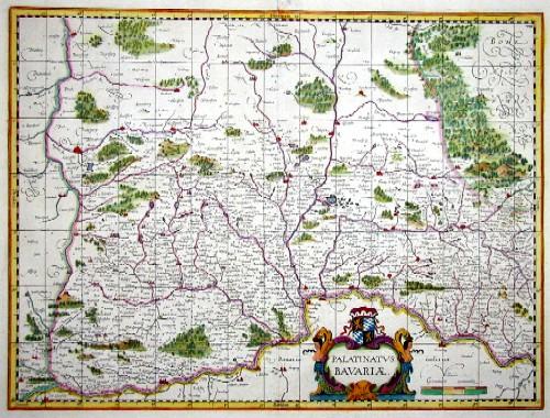 Mercator  Palatinatus Bavariae