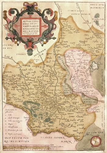 Ortelius  Monasterienesis et Osnaburgensis episcopatus descriptio