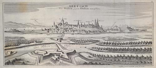 Bodenehr Johannes Georg Breysach Von Westen gegen Oosten anzusehen