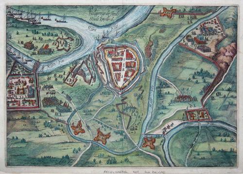 Anonymus  Belegeringe der Stercke Stadt Rynsberck