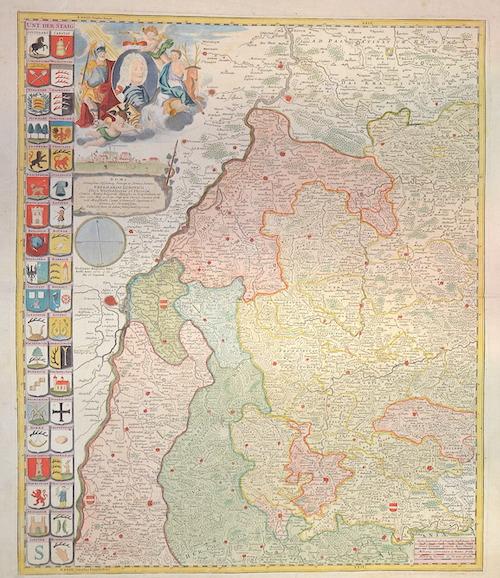 Homann Johann Babtiste Doms Serenissimo colsissimog, principi ac domino domino….Eberhardo Ludovico