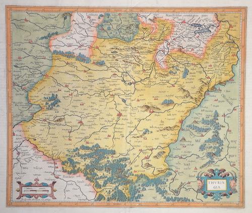 Mercator Gehard Thuringia