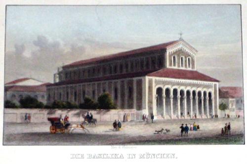 Poppel Johann Gabriel Friedrich Die Basilika in München