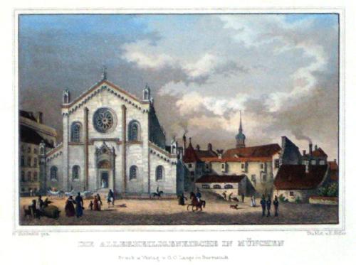 Höfer E. Die Allerheiligenkirche in Muenchen