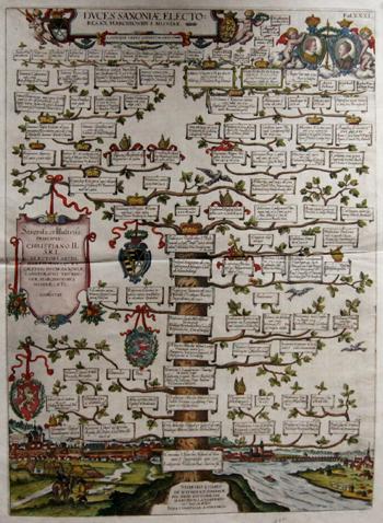 Albizzi Antonio Duces Saxoniae electores ex Marchionibus Misniae