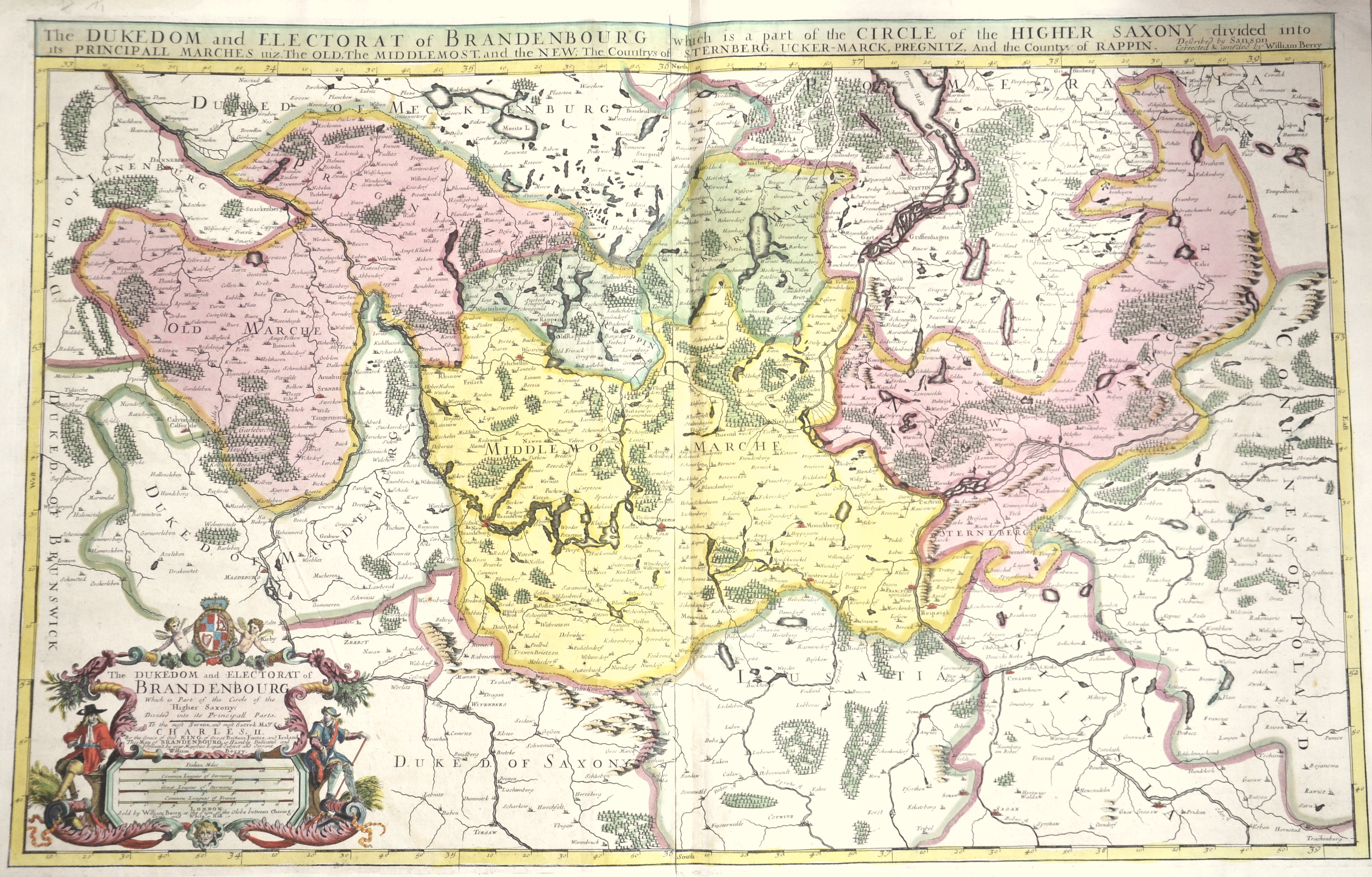 Berry W. The Dukedom and Electorat of Brandenbourg which is a part of the Circle of the Higher Saxony…