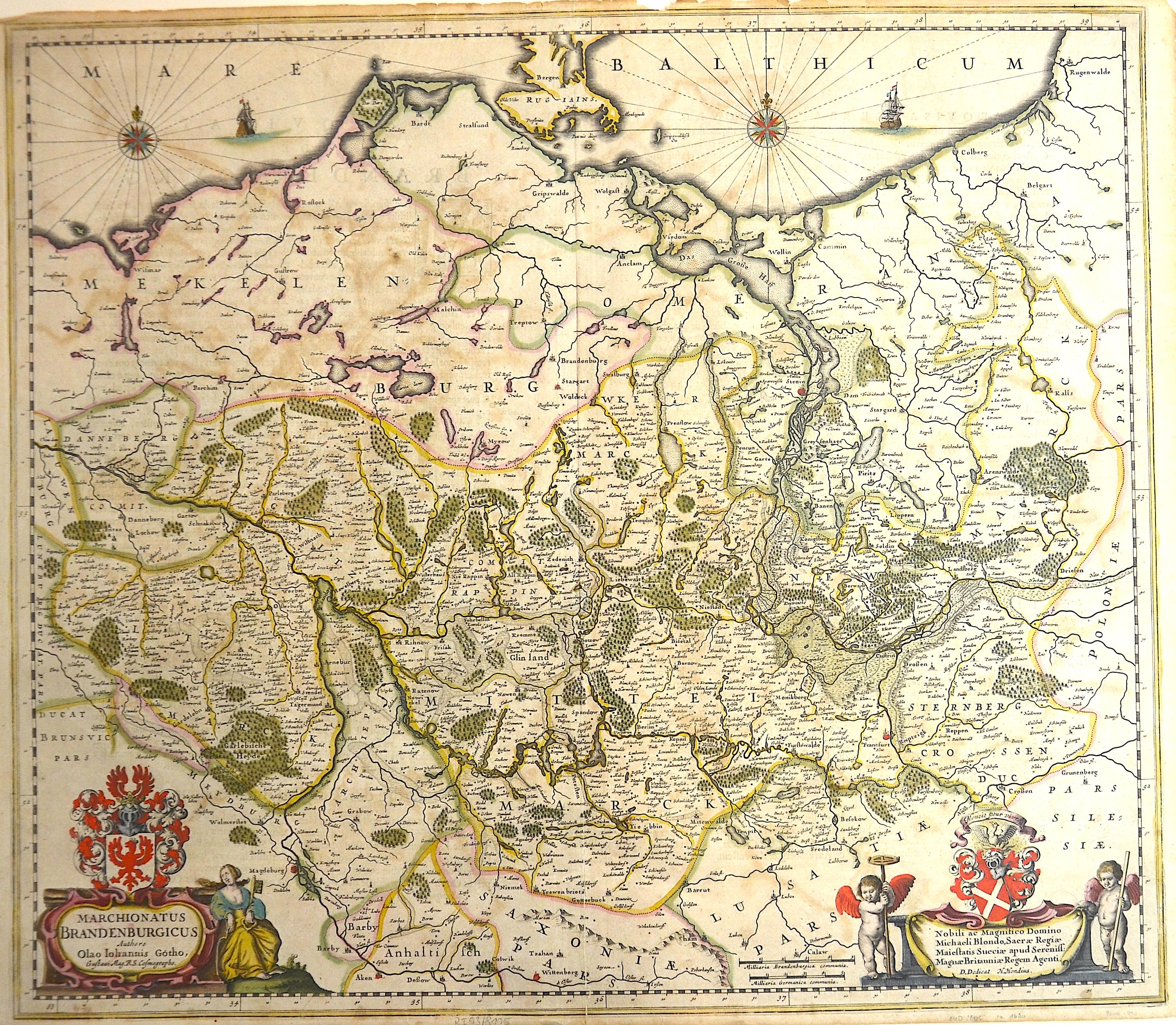 Hondius Hendrik Marchionatus Brandenburgicus ……….