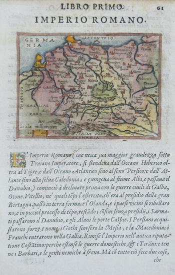 Lasor a Varea Alphonse Libro primo, Imperio Romano
