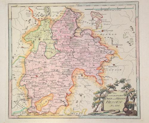 Walch Johann Die Landgrafschaft Ober und Nieder Hessen