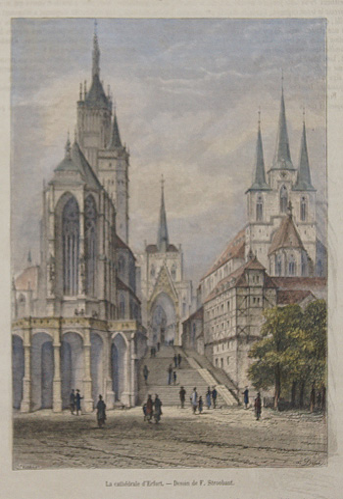 Strobant  La cathedrale d´ Erfurt