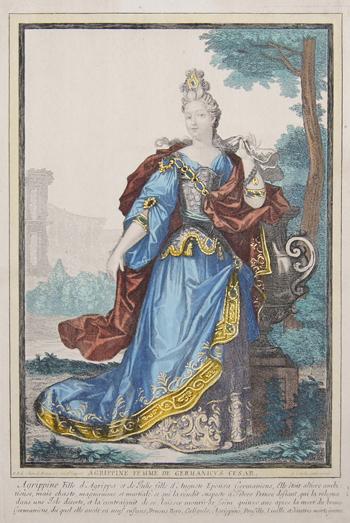 Bonnart  Agrippine femme de Germanicus Cesar