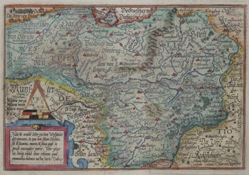 Bussemacher Johann Habes hic candide lector exactam Westphaliae descriptionem, in qua non solum Civitates..