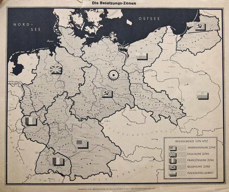 Rhein/Neckar-Zeitung  Die Besatzungs-Zone