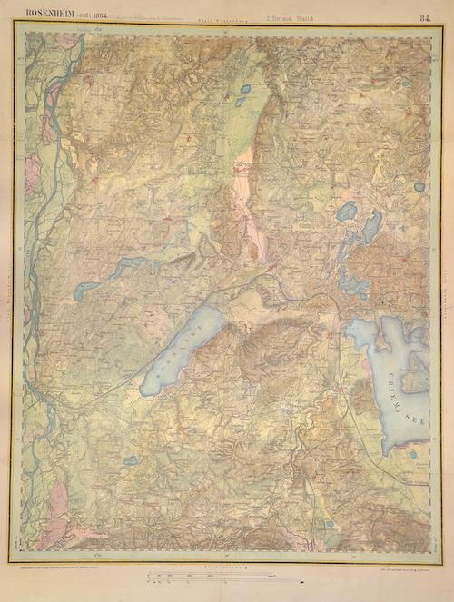 Linbrunn  Rosenheim (ost) 1884 / I. Division Blatt4 / 84