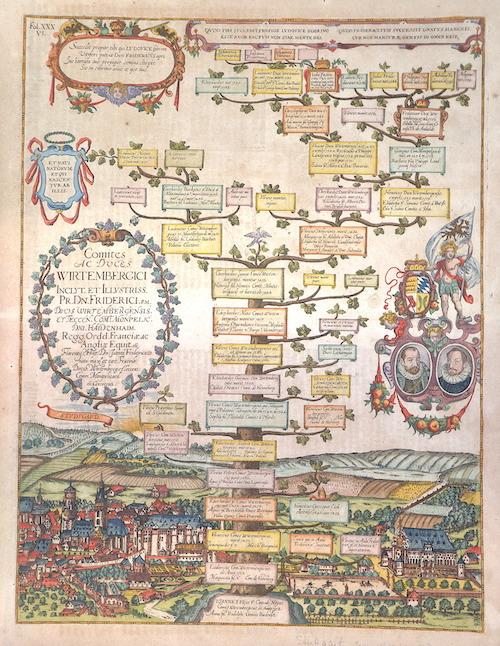 Albizzi Antonio Comites ac duces Wirtembergici inclyt. Et illustriss. Pr. Dr. Friderici..
