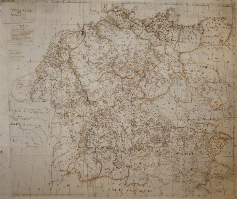 Anonymus  Germaniae Francicae, sive Austrasiae, Tabula,..