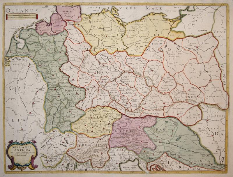 Sanson Nicolas Germania Antiqua