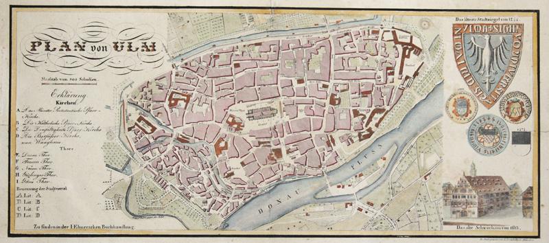 Zertahelty L. Plan von Ulm.