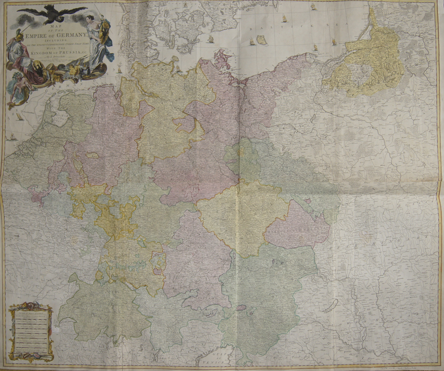 Delarochete Louis Map of the Empire of Germany, including all the States comprehended under that Name with the Kingdom of Prussia, & c.