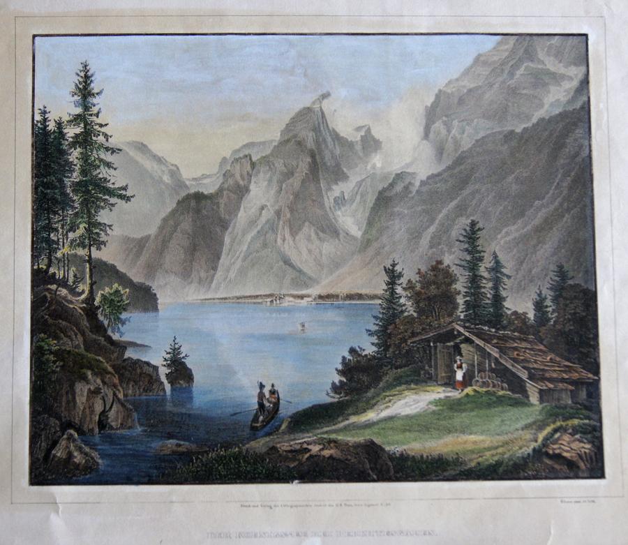 Loos  Der Koenigssee bei Berchtesgaden.