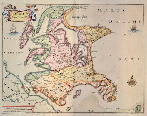 Merian Matthäus Rugia Insula ac Ducatus