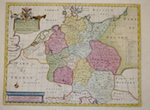 Wells Edward A New Map of Present Germany, Shewing Its Principal Divisions, Cities, Towns, Rivers, Mountains, & c.