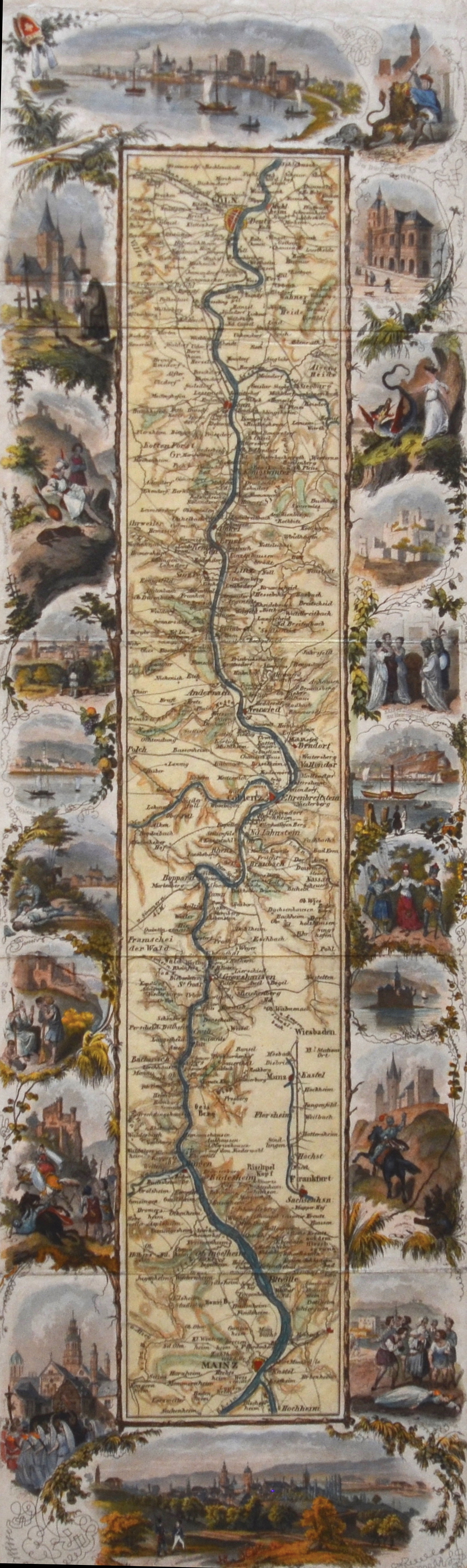 Dondorf B. no title, Rheinlauf