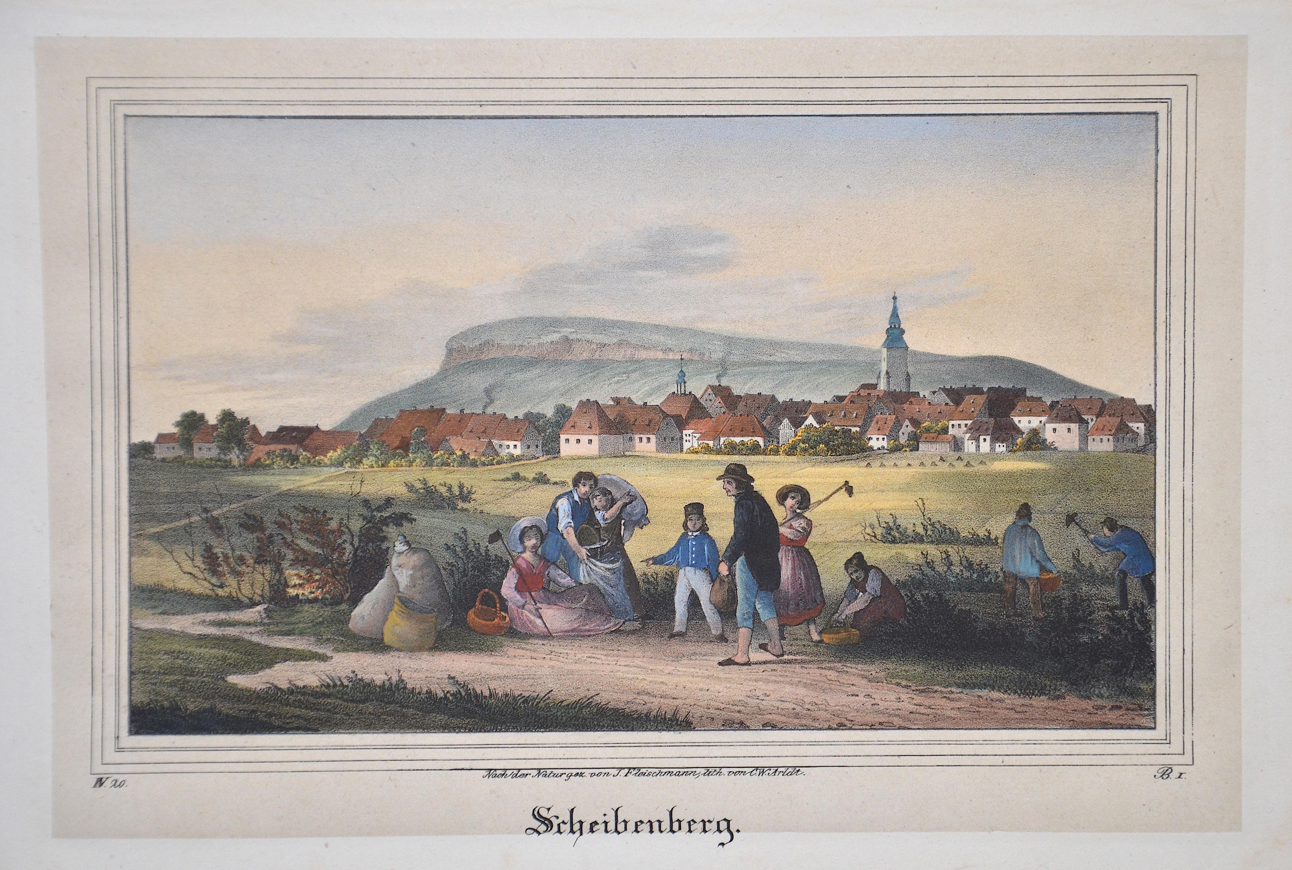 1709 Scheibenberg.