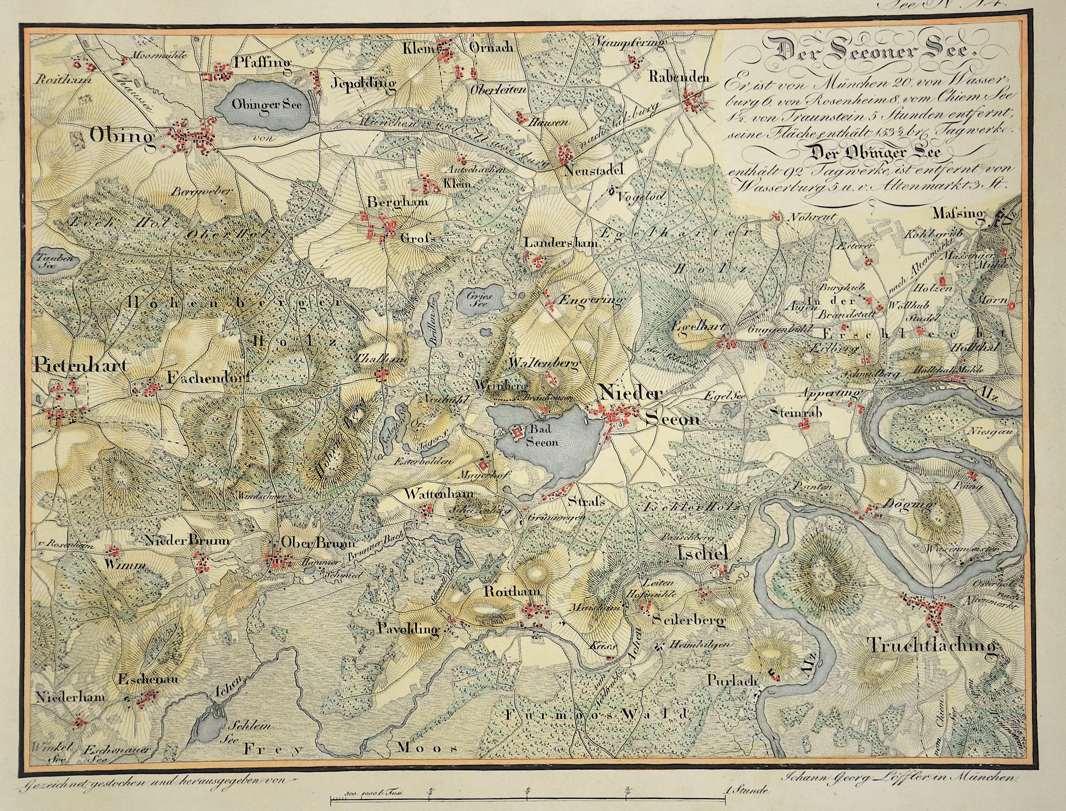 Riedl Adrian von Der Seeoner See.