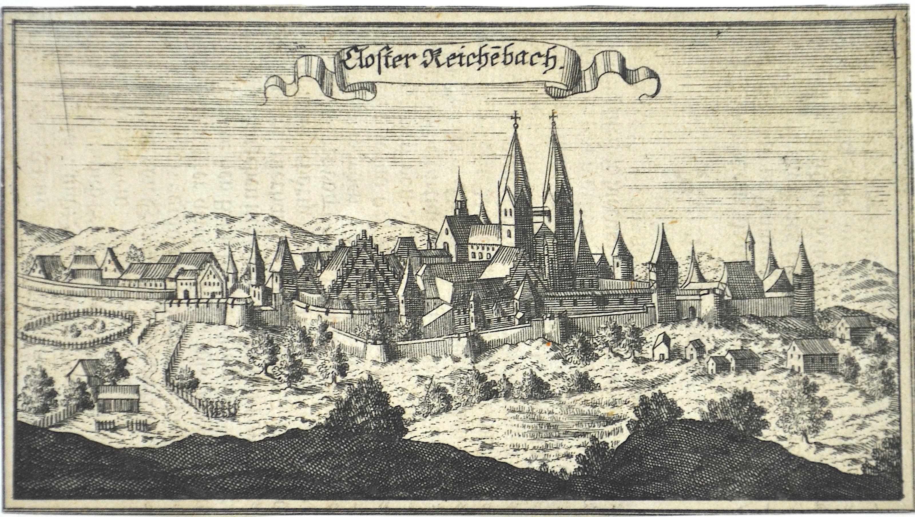 Ertl Anton Wilhelm Closter Reichebach.