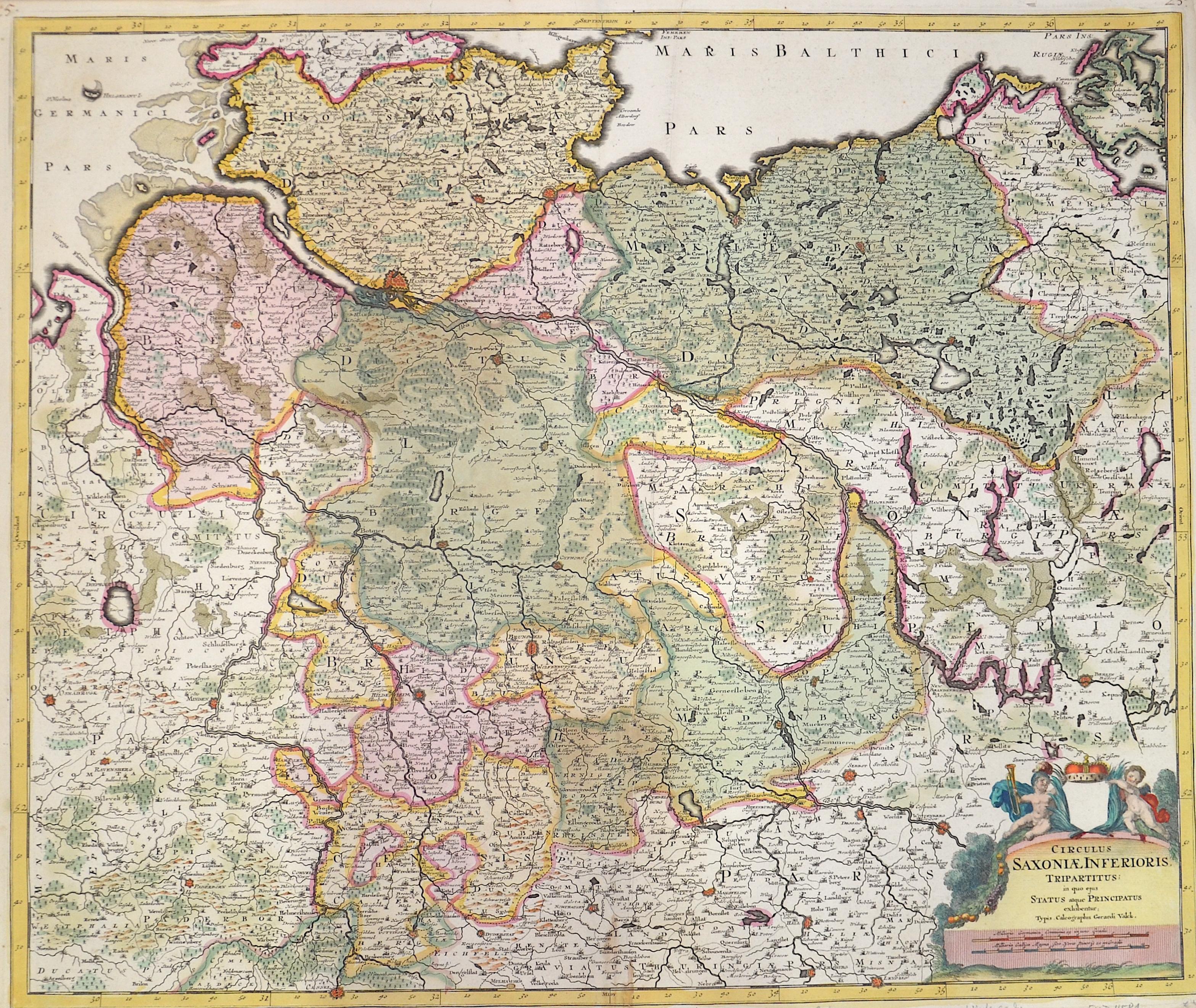 Valk Gerard Circulus Saxoniae Inferioris, Tripartitus