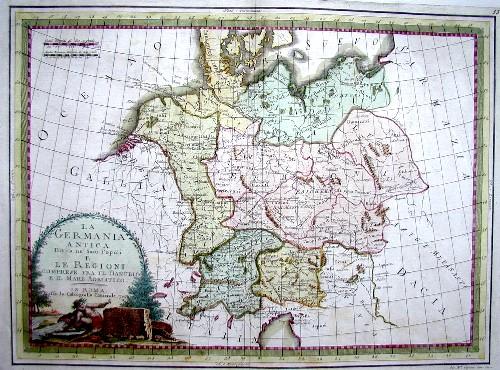 Cassini Giovanni Maria La Germania antica divisa ne´suoi popoli e le regioni…