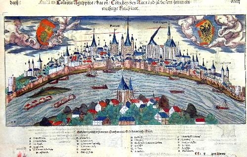 Münster  Colonia agrippina/das is/Köln bey den alten und zu unsren Zeiten ein mechtige Reichstatt