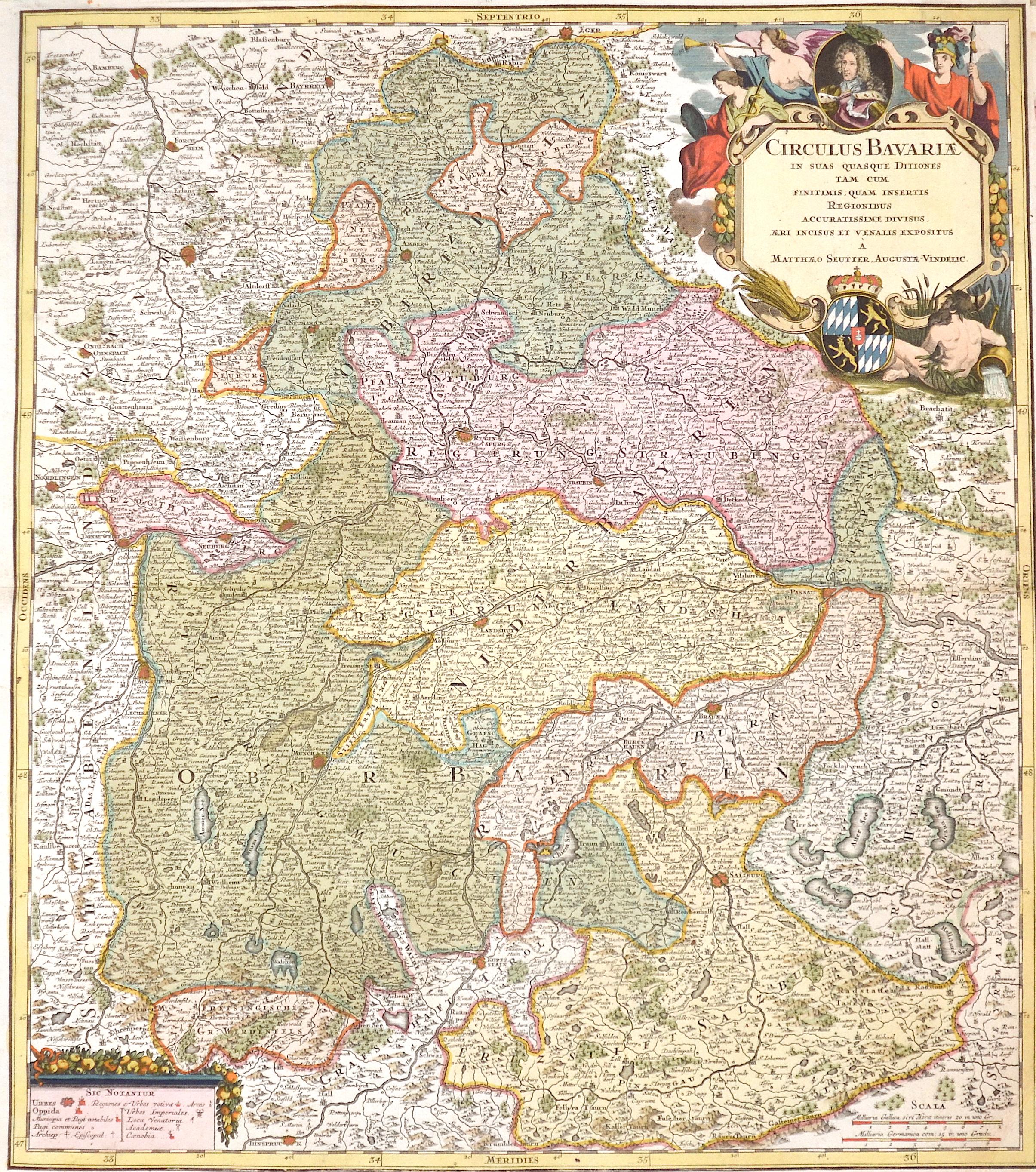 Seutter  Circulus Bavariae