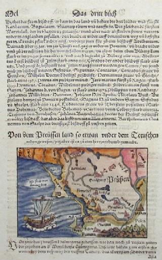 Münster  Von dem Preüssen Land so etwan under dem Tetuschen Orden gewesen…