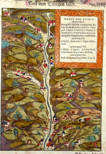 Münster Sebastian Namen der gruben im Furtelbach, im Surberzthal und Brahegetzer Thal und in Eckricherthal