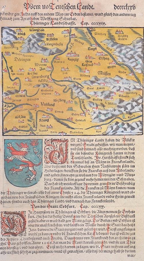 Münster  V dem uo Teutschen Landt