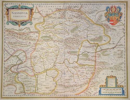 Janssonius/Mercator-Hondius, H. Johann Nassovia comitatus