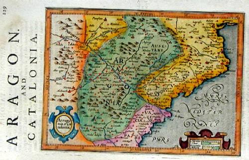 Hondius/Sparke  Aragonia et Catalonia