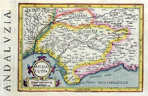 Hondius/Sparke Joducus Andaluzia