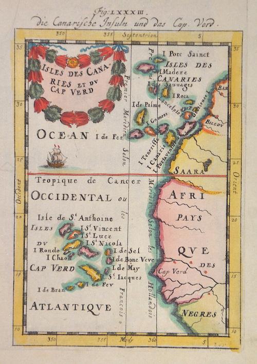 Mallet Alain Manesson Isles des Canaries et du Cap Verd