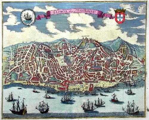 Merian  Lisboa oder Lissabon