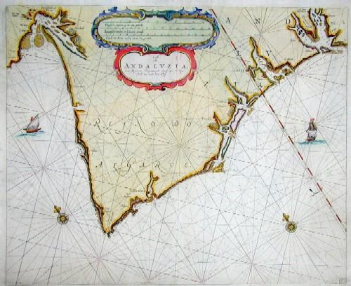 Keulen Johannes van Cust van Andaluzia, En Algarve Beginnende van Capo de Spichel tot aen het Clif