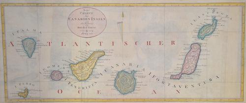 St. Vincent  Neue Charte der Kanarien Inseln