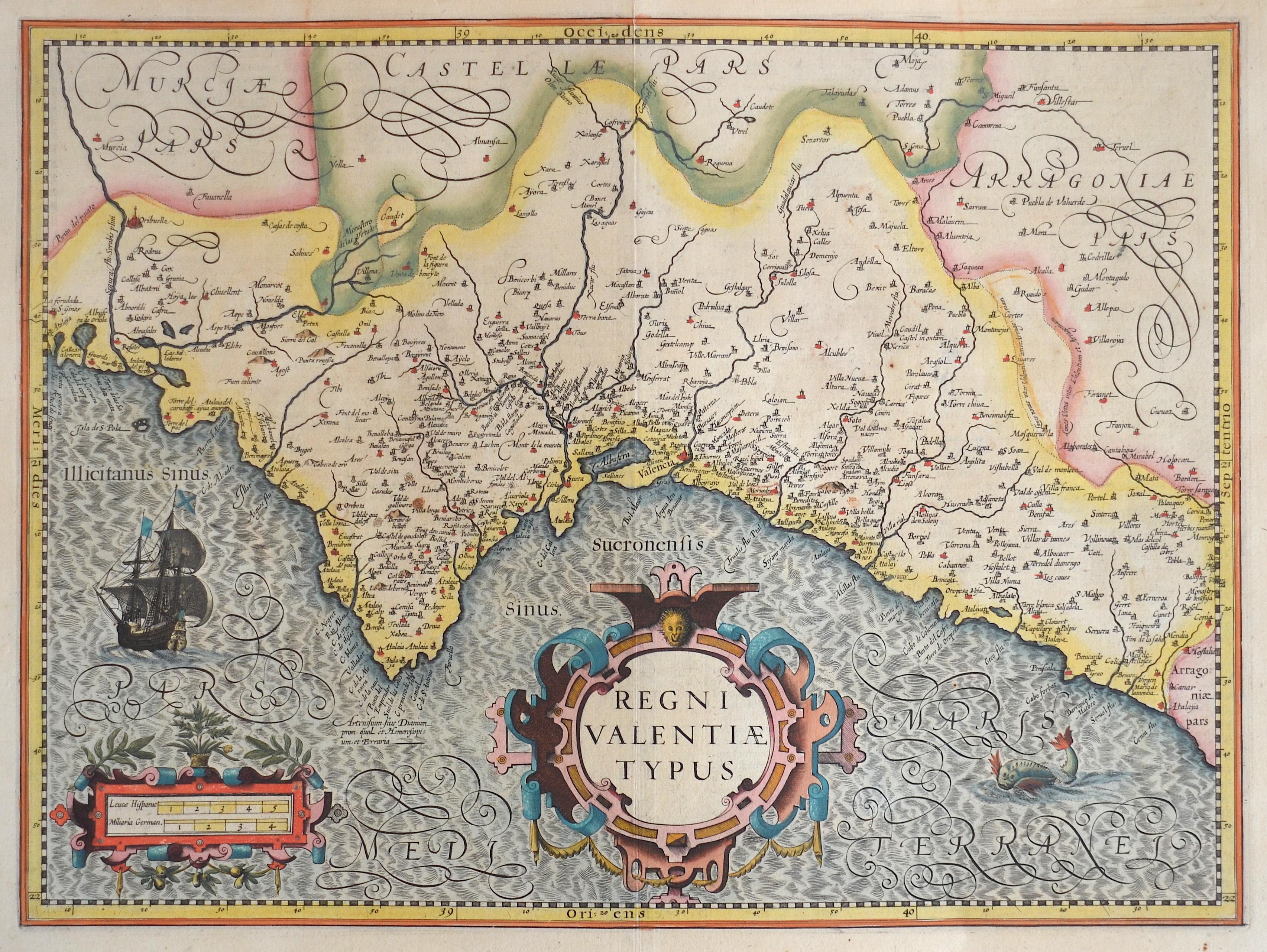 Mercator Gehard Regni Valentiae typus